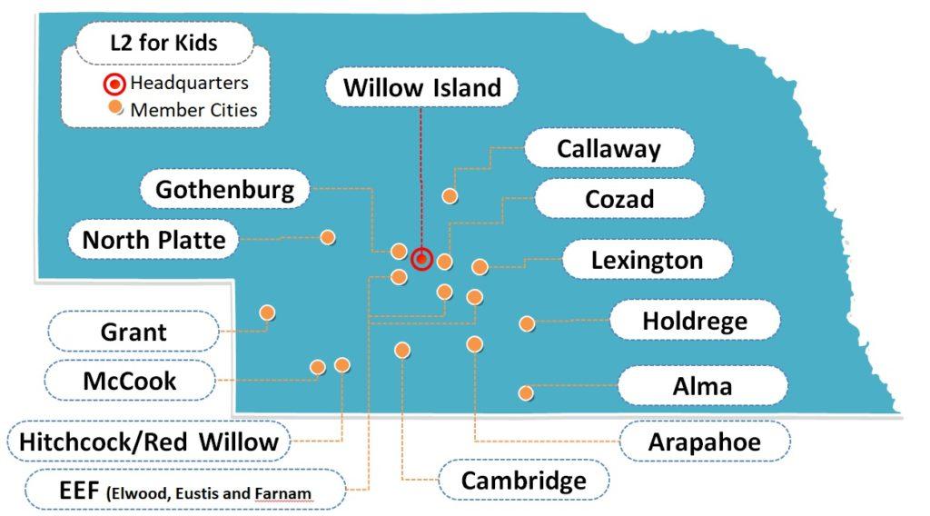 Member Cities Map